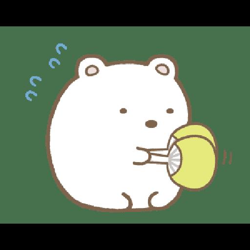 すみっコぐらし かわうそとすみっコ - Sticker 11