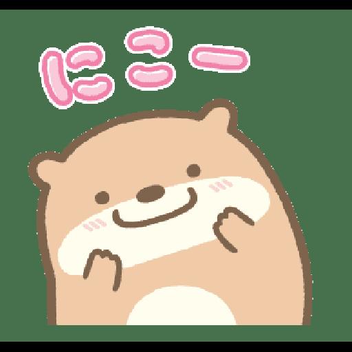 すみっコぐらし かわうそとすみっコ - Sticker 19