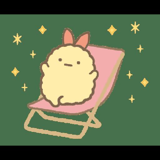すみっコぐらし かわうそとすみっコ - Sticker 12