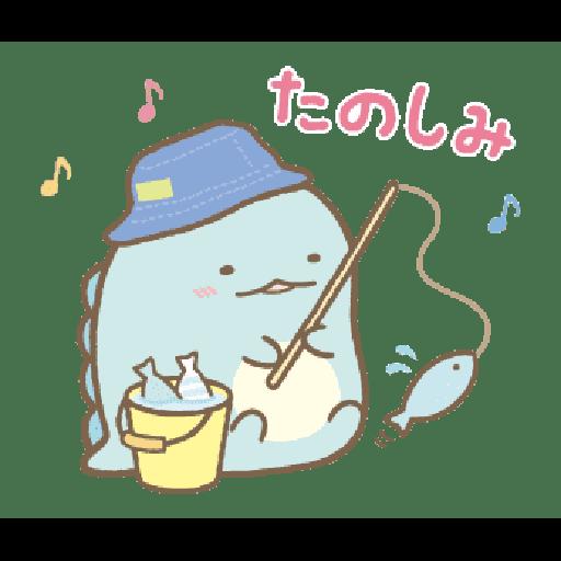 すみっコぐらし かわうそとすみっコ - Sticker 5