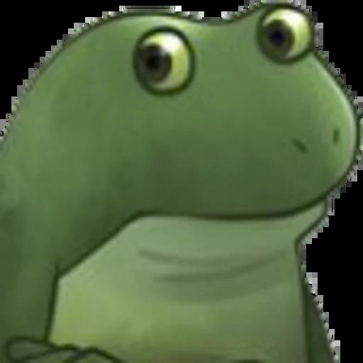 Worry Frog - Sticker 2