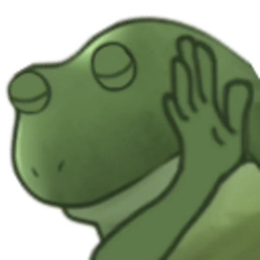 Worry Frog - Sticker 4