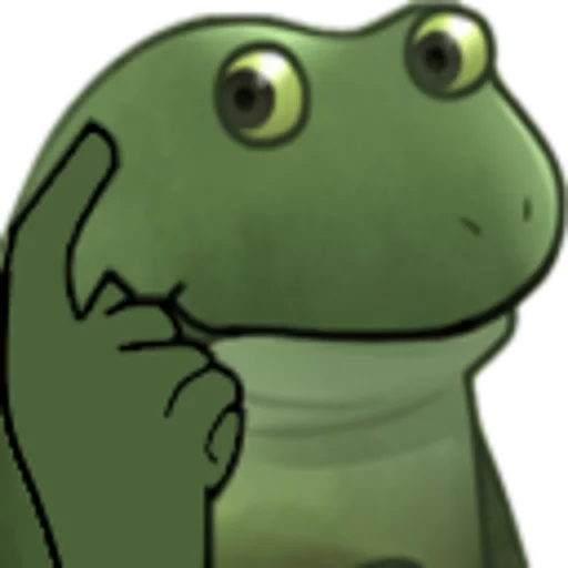 Worry Frog - Sticker 3