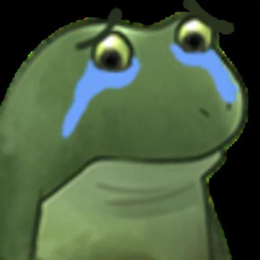 Worry Frog - Sticker 5