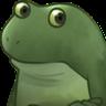 Worry Frog - Tray Sticker