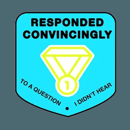 Meeting badges - Sticker 7