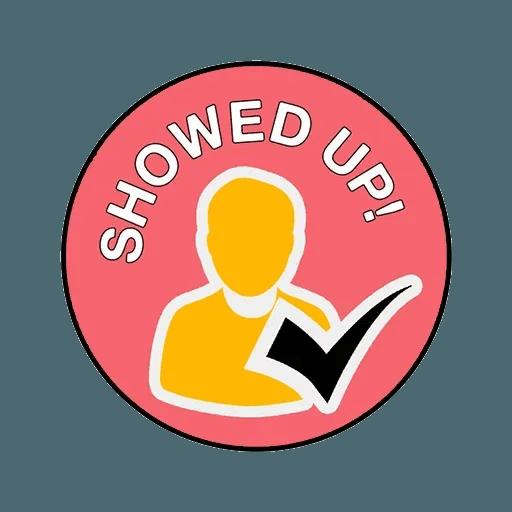Meeting badges - Sticker 3