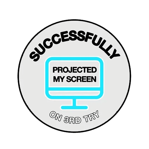 Meeting badges - Sticker 2