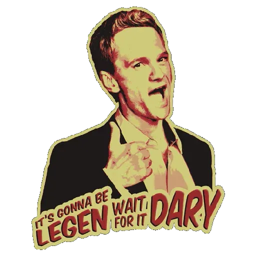HIMYM - Sticker 2