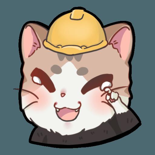 米君貓 – 香港加油系列 - Sticker 14