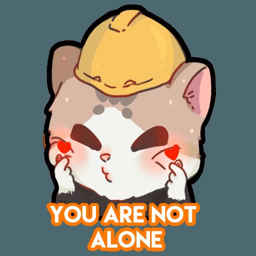 米君貓 – 香港加油系列 - Sticker 10