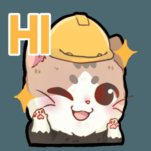 米君貓 – 香港加油系列 - Sticker 20