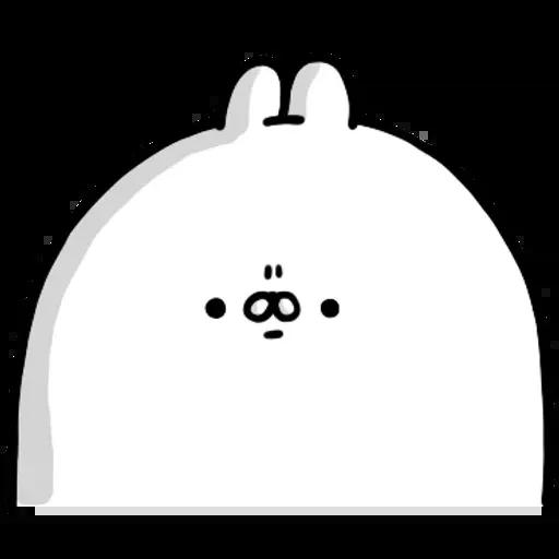 醜白兔2 - Sticker 2