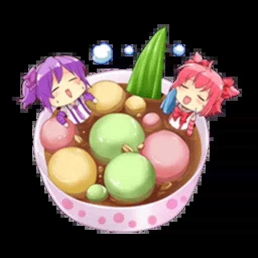 Anime Food - Sticker 6