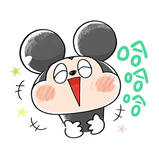 Mickey Mouse and friend 2 - Sticker 3