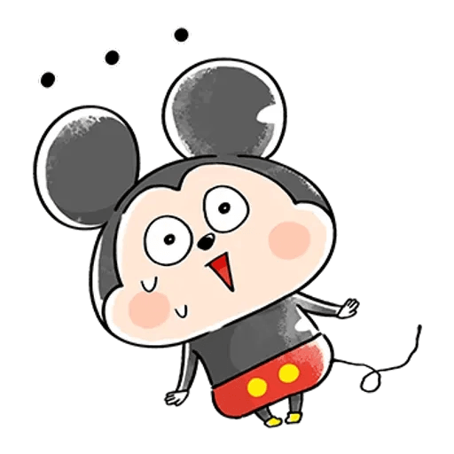 Mickey Mouse and friend 2 - Sticker 4