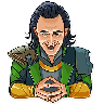 Loki - Tray Sticker