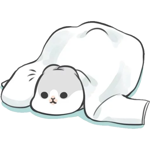 ㄇㄚˊ幾兔4, busy, cold, cry, go 30 - Sticker 10