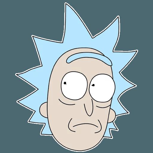 R&M Rick - Sticker 6