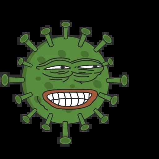 Pepe Coronavirus - Sticker 1