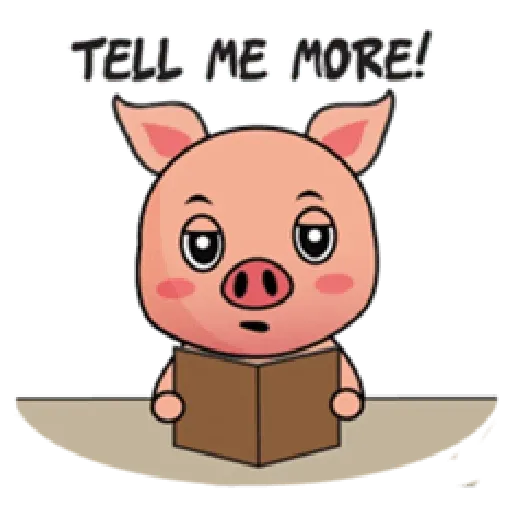 Laizy Piggy : Daily Talk - Sticker 18