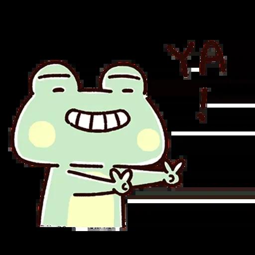 Frog1 - Sticker 5