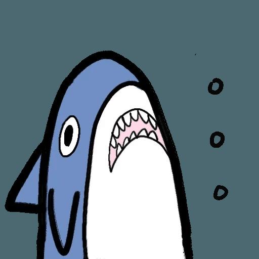 鯊魚 - Sticker 4