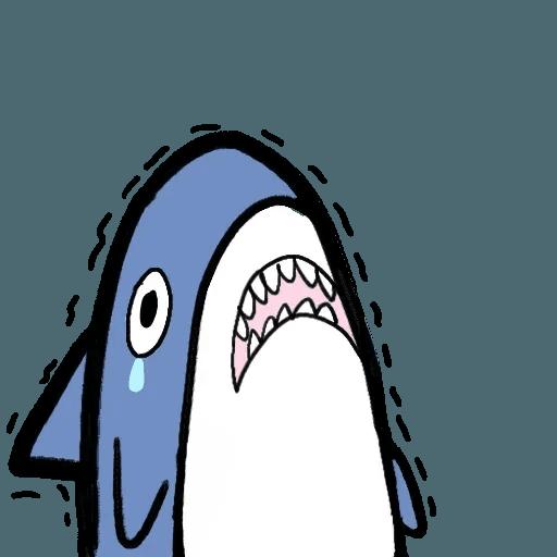 鯊魚 - Sticker 18