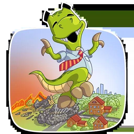Mr. T-Rex - Sticker 12