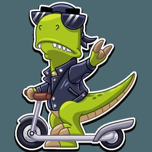 Mr. T-Rex - Sticker 13