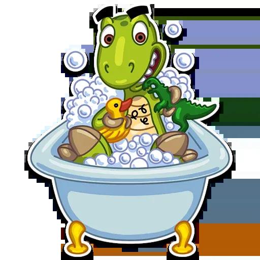 Mr. T-Rex - Sticker 2