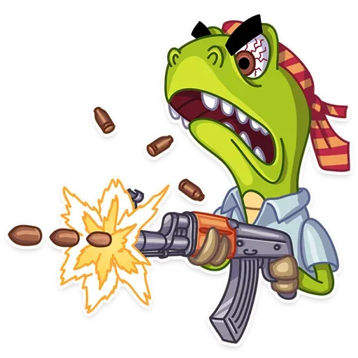 Mr. T-Rex - Sticker 23