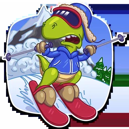 Mr. T-Rex - Sticker 4