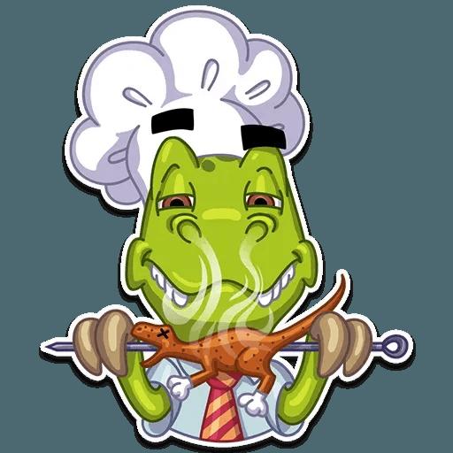 Mr. T-Rex - Sticker 11
