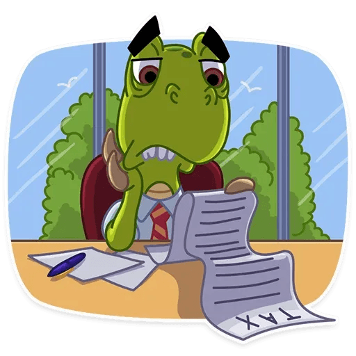 Mr. T-Rex - Sticker 10