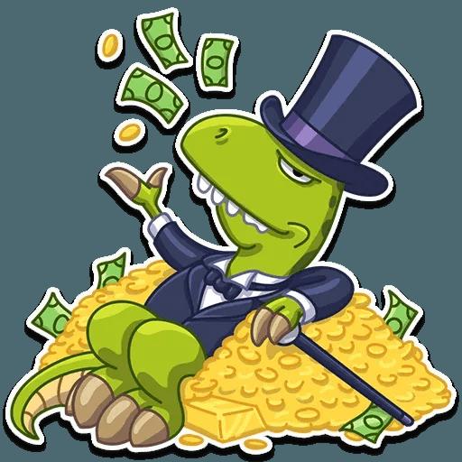Mr. T-Rex - Sticker 14
