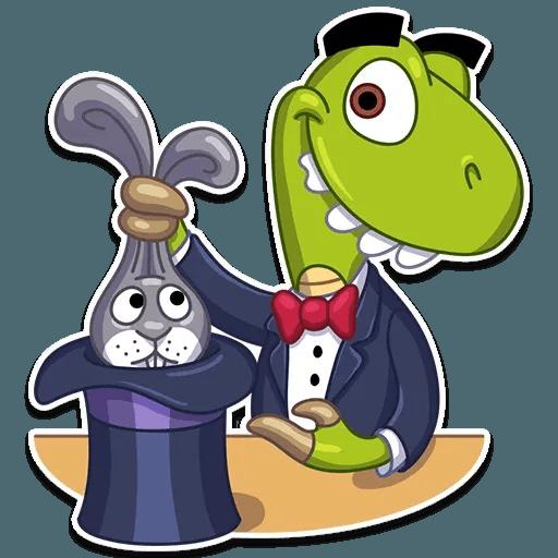 Mr. T-Rex - Sticker 30