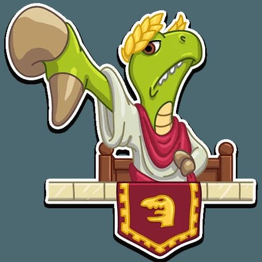 Mr. T-Rex - Sticker 19