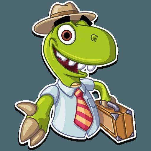Mr. T-Rex - Sticker 25