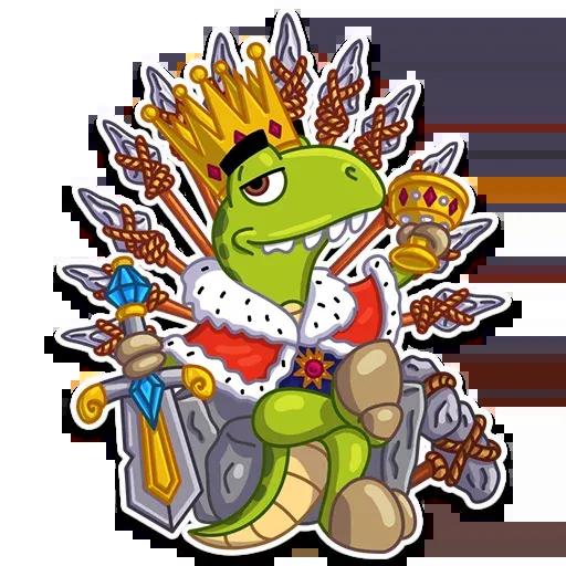 Mr. T-Rex - Sticker 3