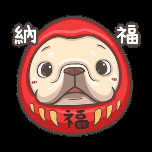 法鬥皮古-狂歡派對(第18彈) 聖誕貼圖 - Sticker 14