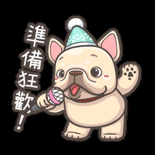 法鬥皮古-狂歡派對(第18彈) 聖誕貼圖 - Sticker 6
