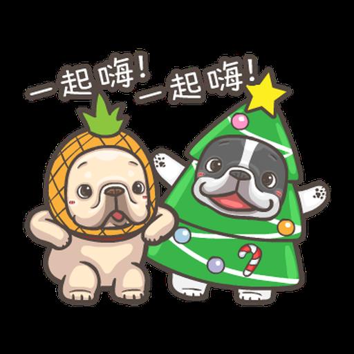 法鬥皮古-狂歡派對(第18彈) 聖誕貼圖 - Tray Sticker
