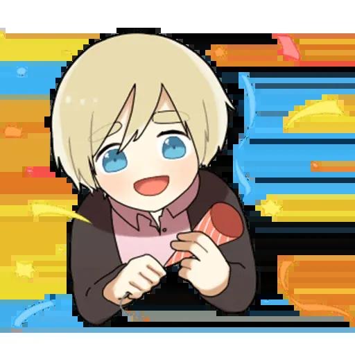 Obedient Blond Boy 2 - Sticker 7