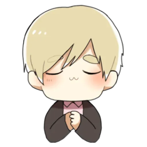 Obedient Blond Boy 2 - Sticker 1