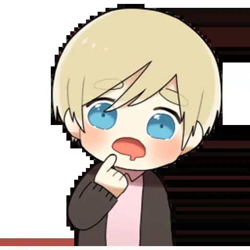 Obedient Blond Boy 2 - Sticker 8
