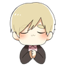 Obedient Blond Boy 2 - Tray Sticker