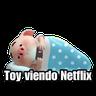 Cerditos 1 - Tray Sticker