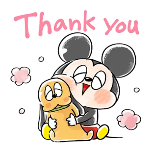 Mickey friends - Meong - Sticker 1
