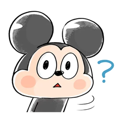 Mickey friends - Meong - Sticker 2